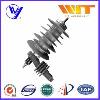 18KV Silicon Rubber Metal Oxide Station Class Surge Lightning Arresters for Transformer Protection