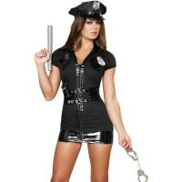 Quality Naughty Patrol Police Officer Costume Adult Costumes for Carnival Christmas Halloween for sale