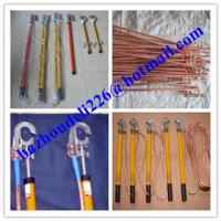 Quality Portable electrical earth rod&ground rod,H.V. Earth rod&earthing sets for sale