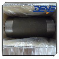 Quality Black Steel Nipple  STD SCH40 SCH80 NPT for sale