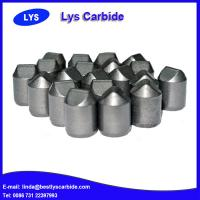 Quality Cemented carbide buttons & inserts for mining tools B types side wedged buttons for sale
