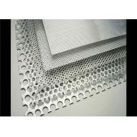 Buy Filter Mesh And Decorative Perforated Metal Mesh Punched Hole 1.5-3m Length at wholesale prices