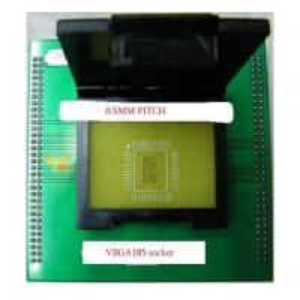 VBGA185 chip socket UP828 UP818 programming adapter VBGA185