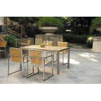 Quality Outdoor Garden Furniture/Outdoor Furniture/304# Stainless Steel Polywood Dining Set (BZ-N002) for sale