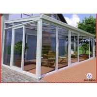 Quality Home Greenhouse Aluminium Windows And Doors For Sunrooms Glazing Garden for sale