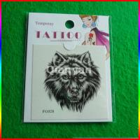 China water transfer temporary tattoo, lion henna tattoo stickers on sale