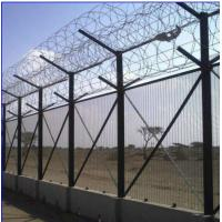 Quality House Gate No Climb Security Fence 12.7x76.2mm Mesh Hot Dipped Galvanized for sale