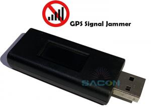 Quality USB Disk LED Display 15m GPS Signal Jammer for sale