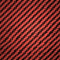 Quality Red Kelvlar/carbon cloth for sale