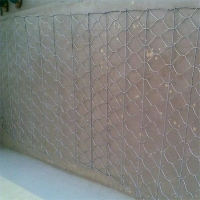 Quality Reinforced Hexagonal Gabion road Mesh track to rebuild the broken roadand surface rutting on existing or asphalt for sale