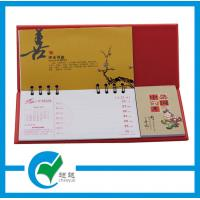Quality 13 Sheets Page Desk Custom Calendars Printing with Full Color Offset Printing for sale