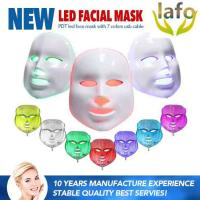 Quality 7 Color in 1 PDT Skin Treatment Light LED Mask For Wholesale for sale