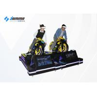 Quality VR Moto Game Machinie VR Motorcycle Simulator With 4 Multiplayer Games for sale
