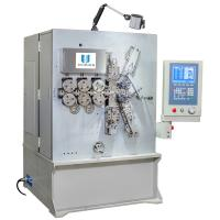 3.00 - 8.00mm CNC Spring Coiling Machine With Servo Motion System