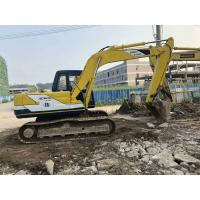 12 Ton Second Hand Kobelco Excavators / Kobelco Sk120 Excavator With 0.5m³ Bucket