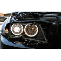 China E46 Non-Projector LED Angel Eyes Halo rings SMD LED 42 angel eyes for BMW White on sale