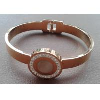 China Hot Fashion 316L S.Steel Ladies PVD Gold Plated Brand Italy Paris Design Bracelet Bangle on sale