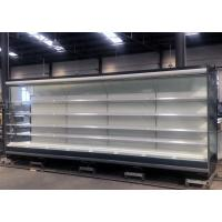 China Low Fronted Remote Multideck Open Display Fridge 5 Layers With LED Light Tubes on sale