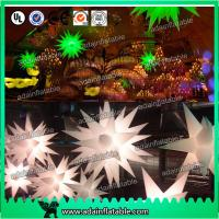 Quality 2m Green/White Event Infatable Decoration LED lighting Star For Club for sale