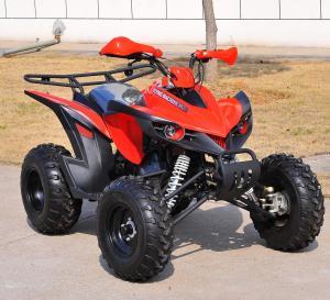 Quality Electric Sport Racing ATV 4x4 , Automatic 150CC Kandi Quad Bike for sale