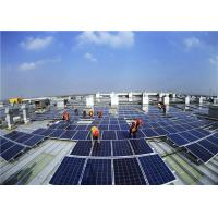 China Commercial Solar Panel Roof Mounting Systems Aluminum Tile Ballasted Easy Installation on sale