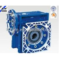 Quality NMRV center distance 50 flange input ratio 20:1 single reduction worm gear reducer. for sale