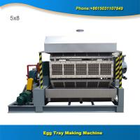 Quality Paper production machinery 5x8 5000pcs full automatic egg tray manufacturing machine for sale