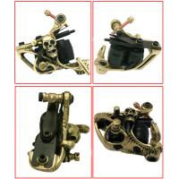 Quality Sunskin hand-polished Genuine make up Brass Tattoo Machines Gun for sale