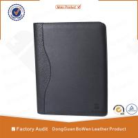 Quality BWA-1 A4 SIZE zipper notebook / 2 ring binder portfolio for sale