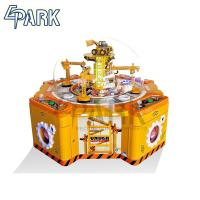 Quality 220V Crane Game Machine / Amusement Candy Project Catching Toy Prize Machine for sale