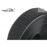 Quality Unnapped Black  Loop Tape , Heavy Duty  Tape 20 - 50mm Width for sale