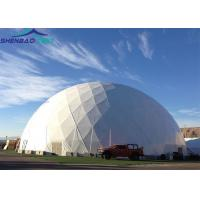 25m Fashion Portable Geodesic Dome Tents , Transparent Pvc Dome Tent for Outdoor Party Events