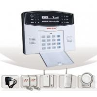 Quality Intelligent GSM Alarm System(YL-007M2B) With LCD Screen, Flash Siren PIR Sensor And Keypad for sale