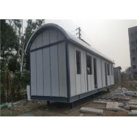 China Prefab Light Steel Frame Mobile Home With Arched EPS Sandwich Panel Roof on sale