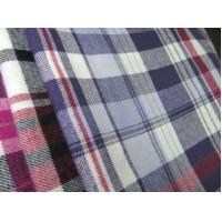 Quality 100% cotton flannel yarn dyed fabric for sale