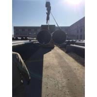 Quality API 5L X80 LSAW welded steel pipes for sea port constructions for sale