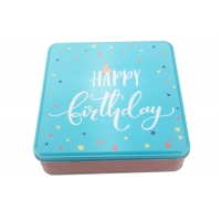 Quality 0.23mm Tinplate Biscuit Tin Box for sale