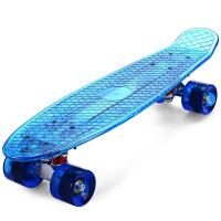 Quality 22 retro mini transparentskateboard for sale