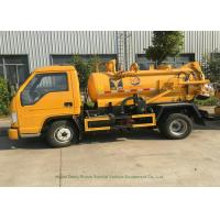 Quality Foland 2000L Septic Vacuum Trucks For Sewage Suction In Municipal Sanitation for sale