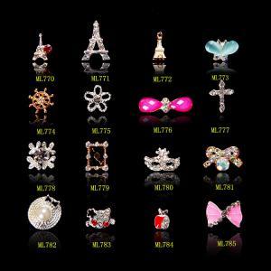Iron Tower  Nail Art Decoration Alloy Jewelry Glitter Rhinestone ML770-785
