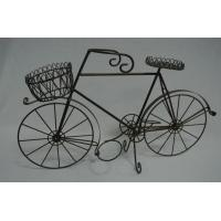 Quality Tricycle Bike Flower Basket Plant Stand for sale
