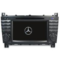 China Mercede Benz C-Class W203 2004-2007 Android 9.0 IPS Screen Car Autoradio Multimedia Navigation Support DSP BNZ-7528GDA on sale