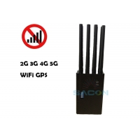 Quality 2G 3G 4G WiFi 8 Antennas 20m Mobile Phone Blocker Jammer for sale