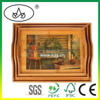 Quality China Wooden Table Decorative Serving Plate for Hotel/Food/Fruit/Restaurant/Kitchen (LC-36 for sale
