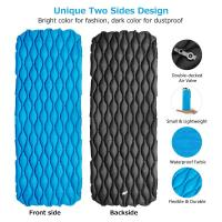 Quality Inflatable Sleeping Pad Best for Camping Compact Size Inflatable Air Mat For Backpacking Hiking Or Camping (HT1606) for sale