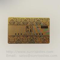 China Where to customize your metal etched business cards metal etching name cards on sale
