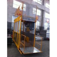 China Operator Cab Construction Material Man And Material Hoist Dual Cage ISO on sale