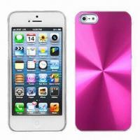 Quality CD Texture Aluminum Crystal Case for iPhone 5 for sale