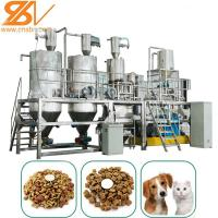 Quality Dry Kibble Dog Food Extruder Machinery Plant Double Screw Puffing 58-380 KW for sale