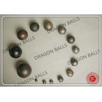 Quality Solid Forged Grinding Media Balls 40mm Custom Material High Durability for sale